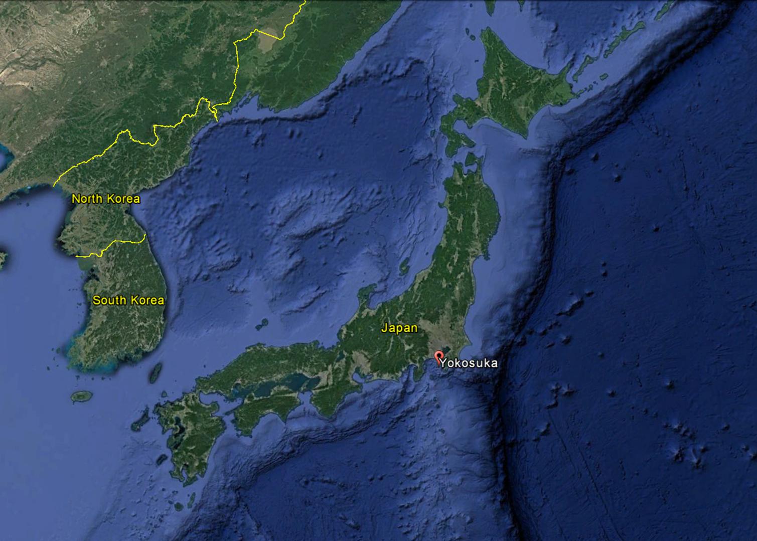 68 Years Ago Today Navcommunit 35 Yokosuka Japan Was Established