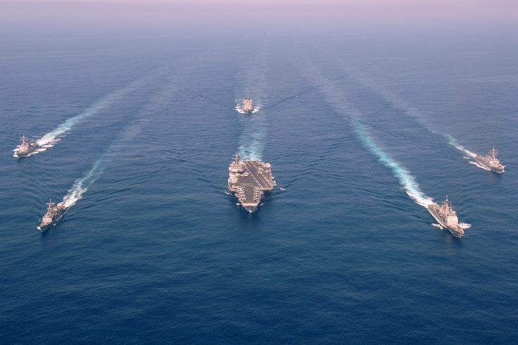 Image released by LCDR Dave Nunnally, PAO CVN 65.
