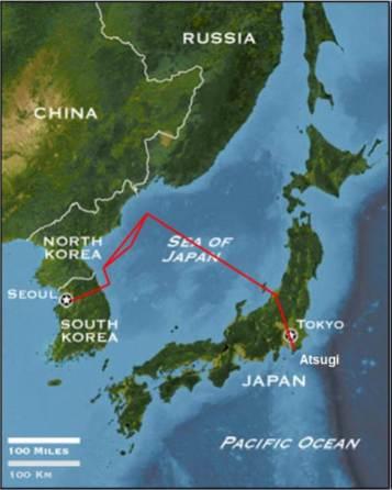 04.15.1969 EC-121 Map