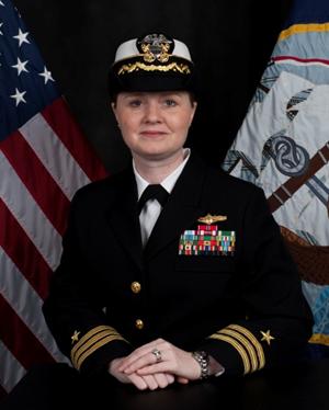 Honoring CDR Sherri Zimmerman Commanding Officer Navy Information Operations Command San Diego