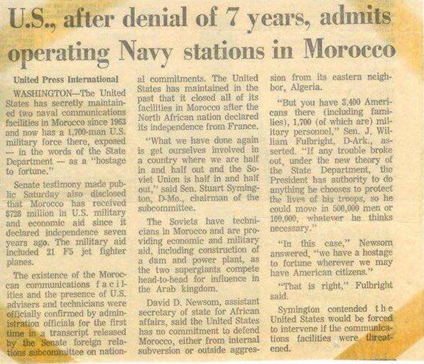 Morocco News Story