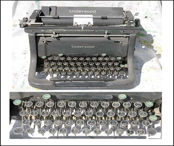 09.22.1893 RIP-5 Underwood Code Machine