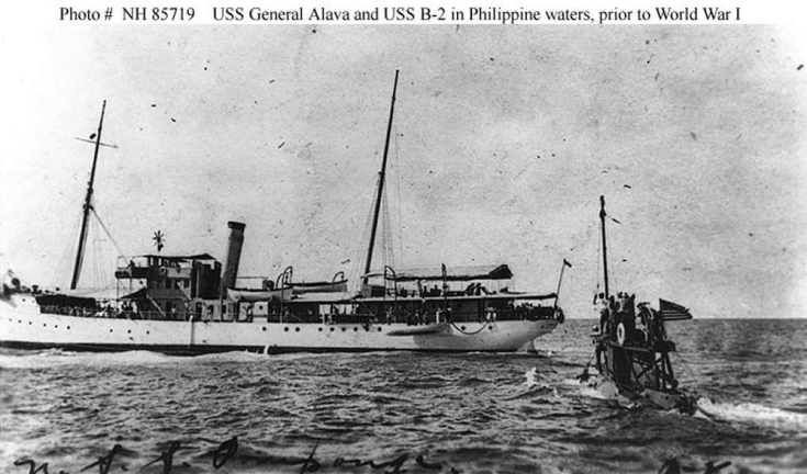 USS GENERAL ALAVA (AG 5)