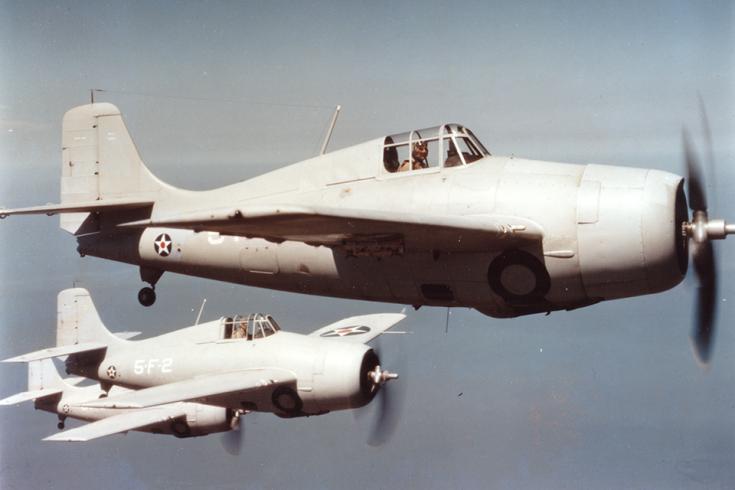 10.01.96 NSGA Whidbey Island WA Established9 F4F Wildcat