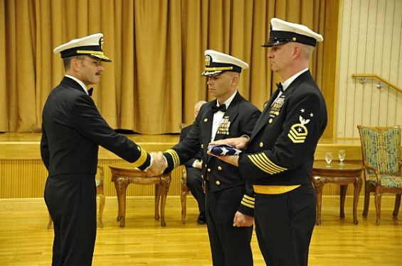 Navy Information Operations Command (NIOC) Yokosuka's Decommissioning Ceremony