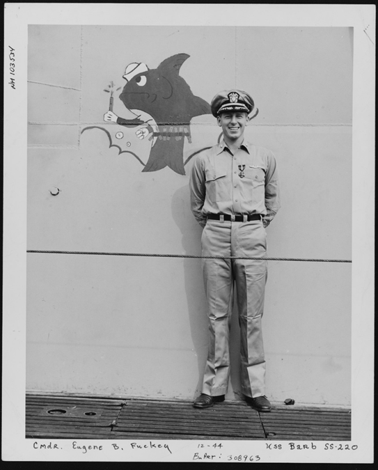Wreath Laying Ceremony in Honor of Admiral Eugene Fluckey, June 28