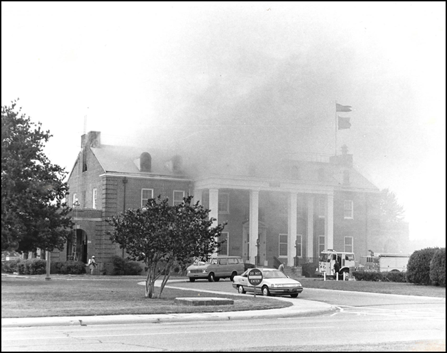 building 501 fire, 19861