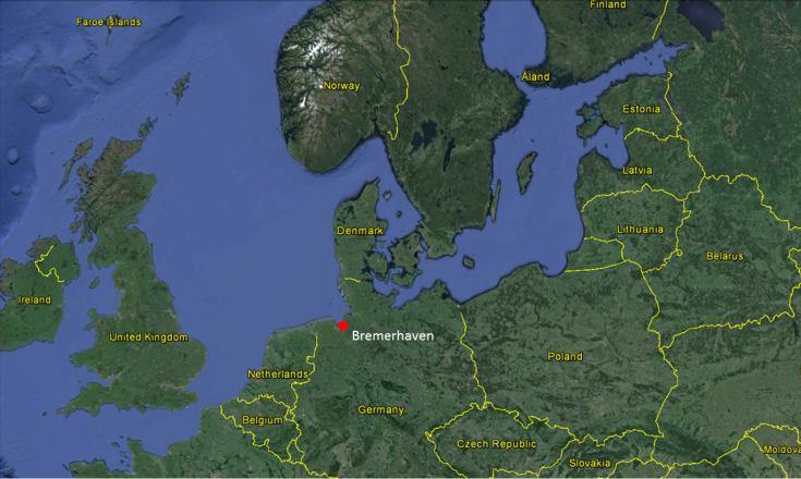 12.31.72 NSGA Bremerhaven Map